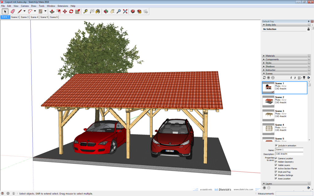 Visualisierung in Sketchup