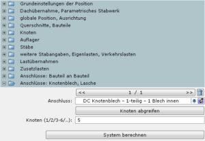 STW-HBA-Knotenblech Lasche